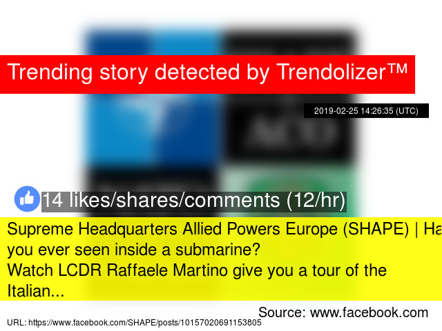 Supreme Headquarters Allied Powers Europe (SHAPE) | Have you ever